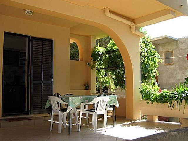Two Bedroom Apartment, in Lun - island Pag, Terrace