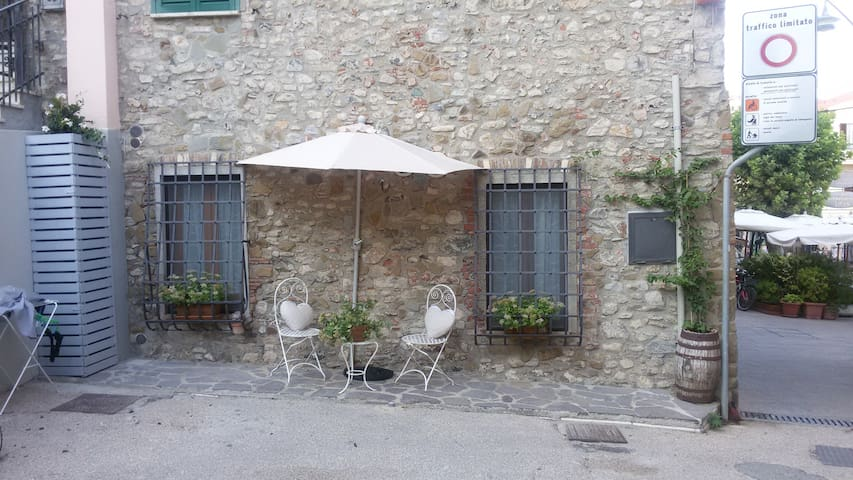 Un angolo esterno dove rilassarvi