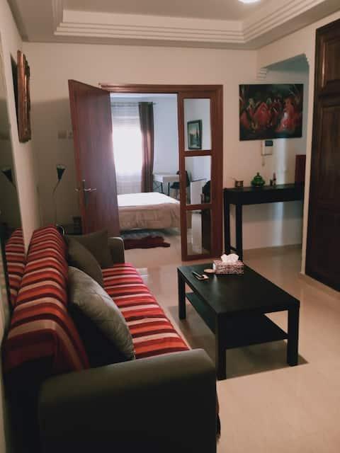 Bel appartement à proximité des monuments de Rabat