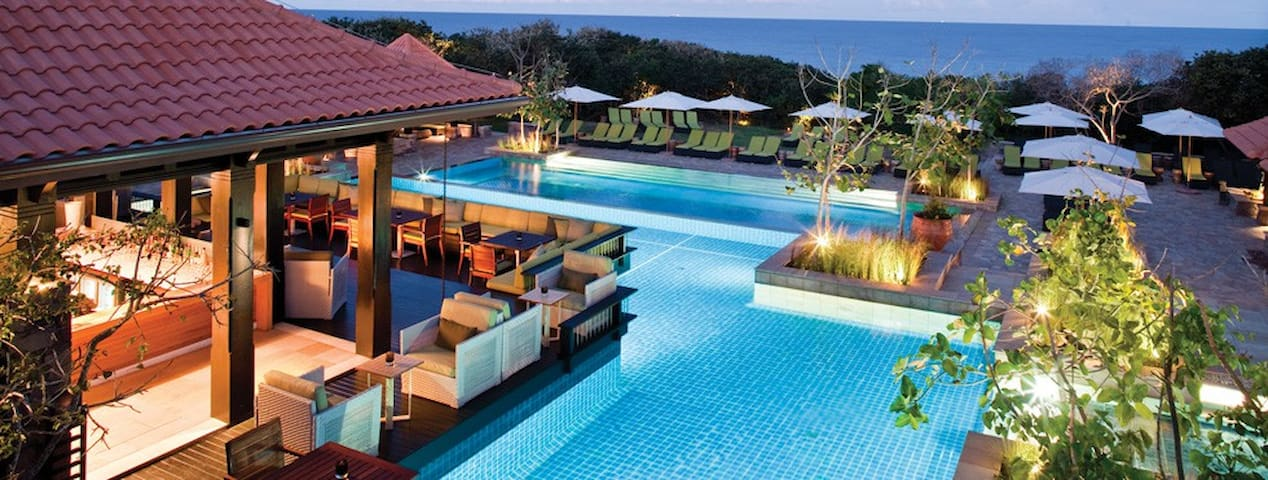 Zimbali Beach Club- a tropical paradise