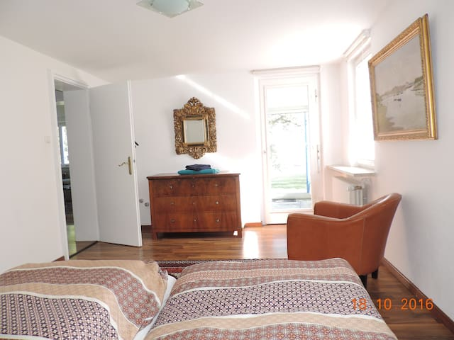 Appartement with own lakefront - Konstanz - Huoneisto