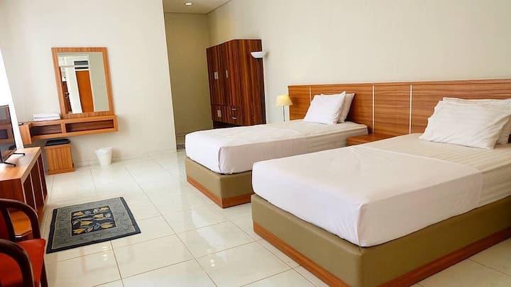 Rumah Bukit Dago Room 4 (Family Twin Bed - 2nd Fl)