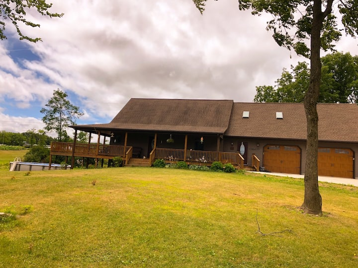 Beautiful home in the heart of the Finger Lakes