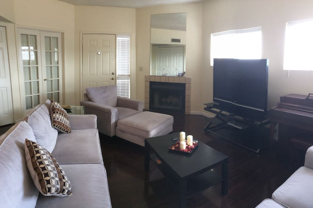 Big living room space.