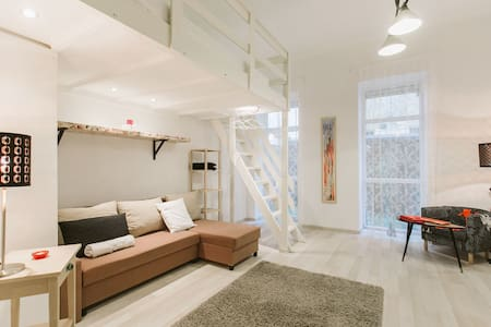 Sweet flat with small garden - Budapest
