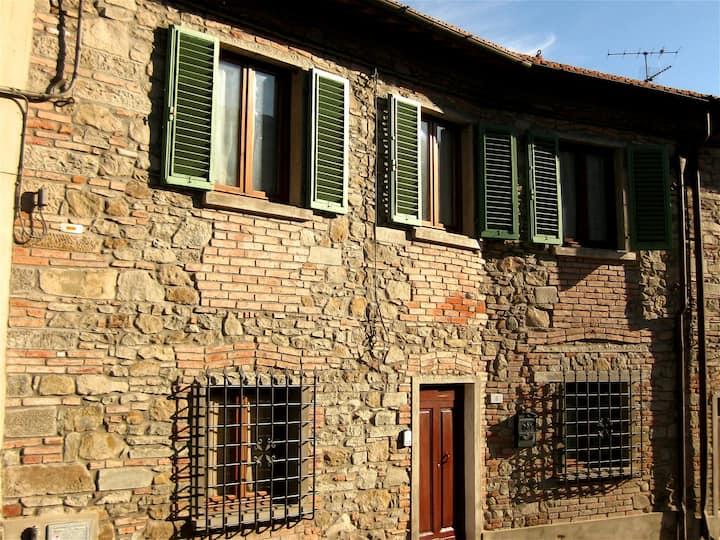 Elegant house in the Chianti area.