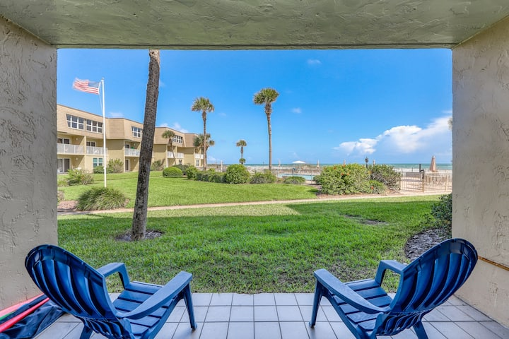 New listing! Gorgeous beach condo w/ a shared pool, patio, & beautiful views