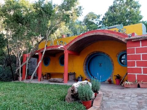 Potrero Chico Hobbit house for climbers