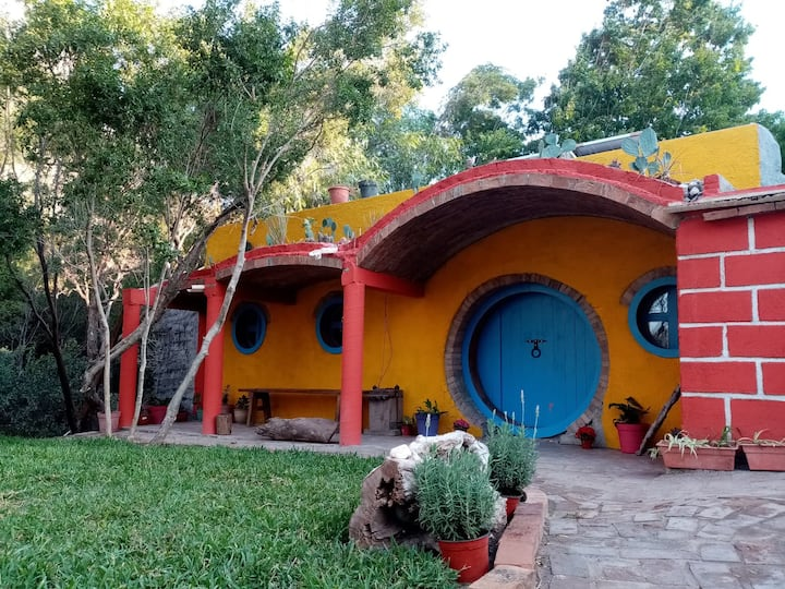 Potrero Chico Hobbit house for climbers