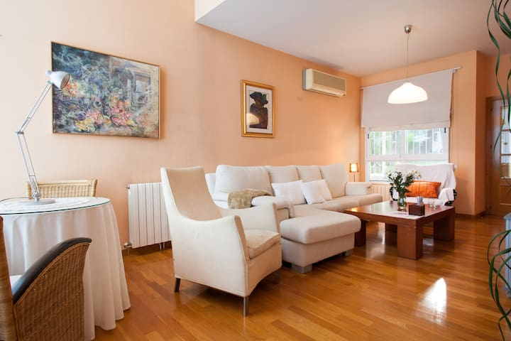 Habitación doble chalet - Murcia - Hytte (i sveitsisk stil)