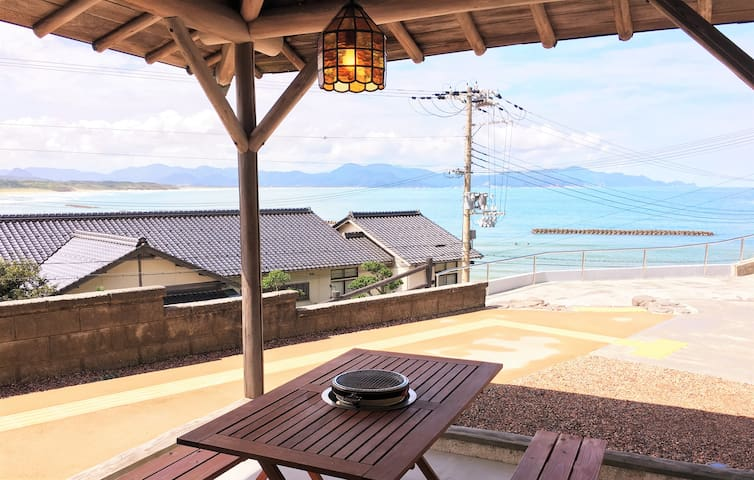 Japanese House with Sunset and Ocean View - Kyōtango-shi - Villa