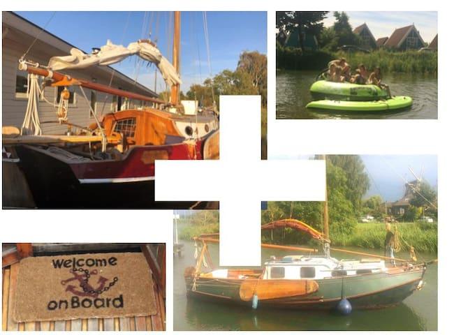 2 family houseboat near Amsterdam centre.