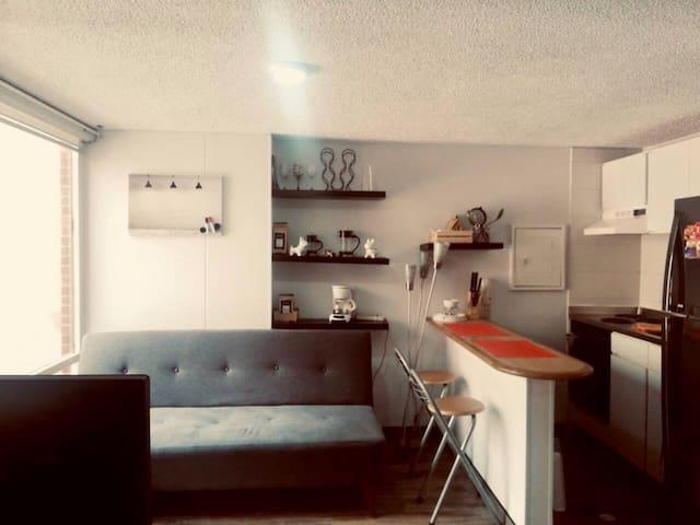 Acogedor apartamento en Chapinero!.