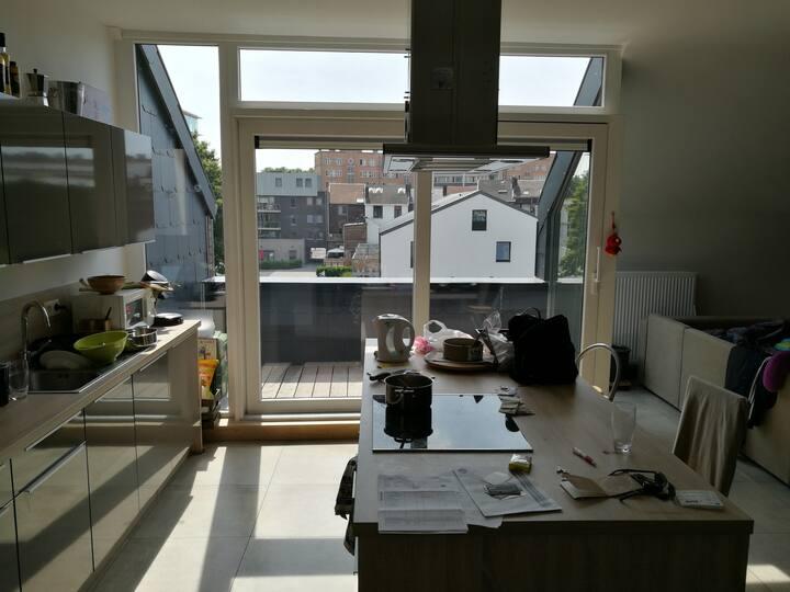 Appartement dans les Vennes à Liège.