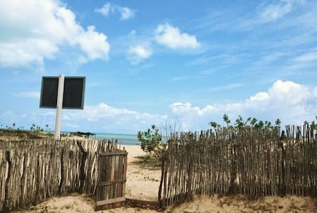 Linda Casa Frente a Praia em São Miguel do Gostoso - São Miguel do Gostoso - Hus