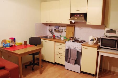 Studio with espresso machine 30 min from center - Sankt-Peterburg