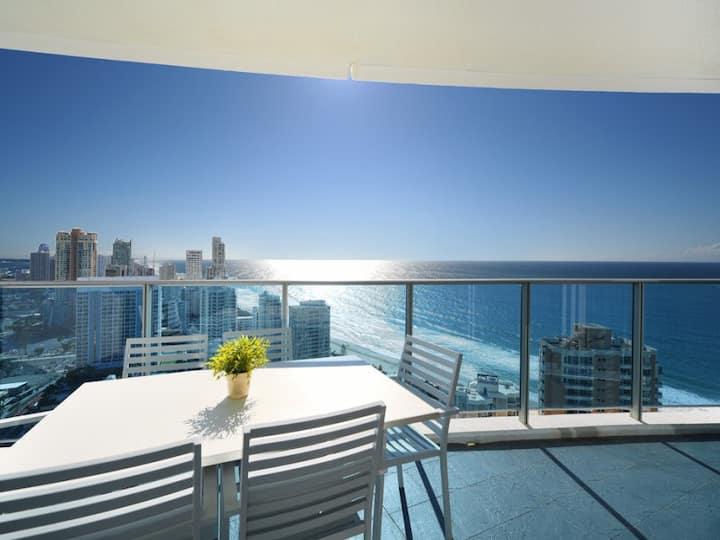 ❤️40 levels above Hilton 2 bedrooms Ocean UPGRADE