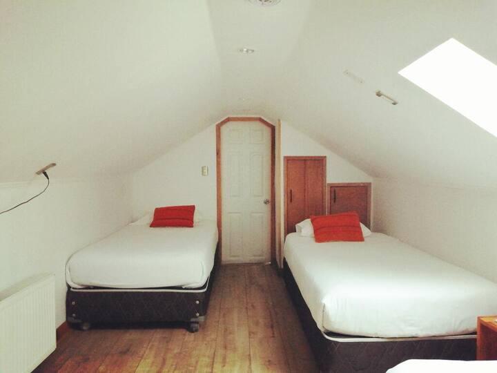 Habitación doble twin