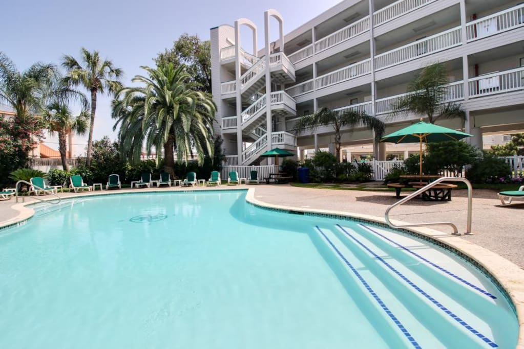 The property has 2 gorgeous pools!