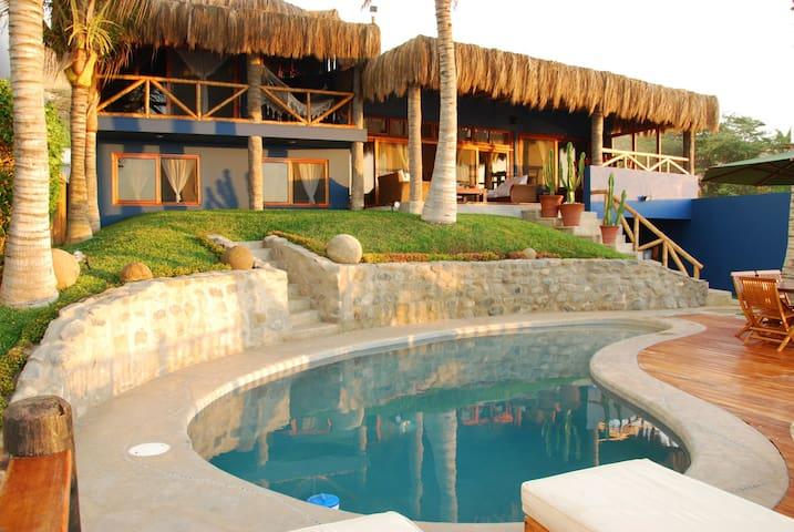 Máncora - Casa Azul - Provincia de Talara - Dům