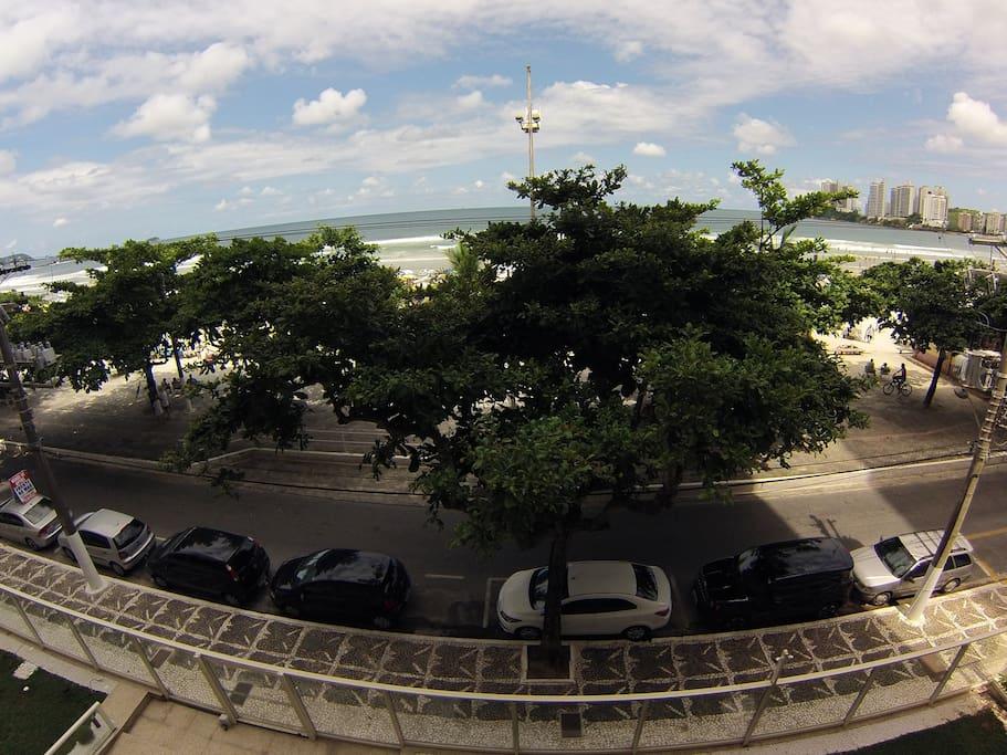 Vista 180º varanda