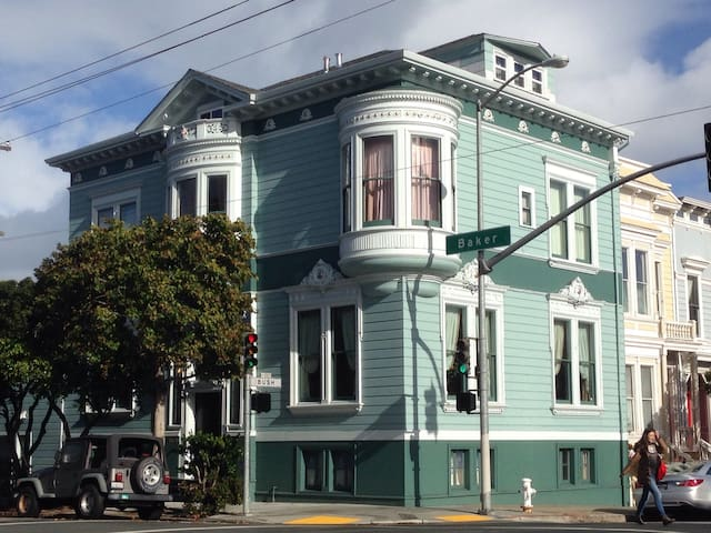 Grand 4-Level Painted Lady Victorian with Parking