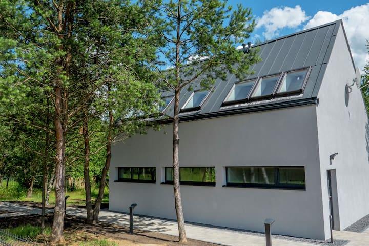Glass Cottage in Jelenska Huta with terrace