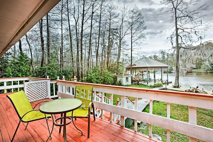 NEW-Riverfront 2BR Covington Home Near Boat Launch