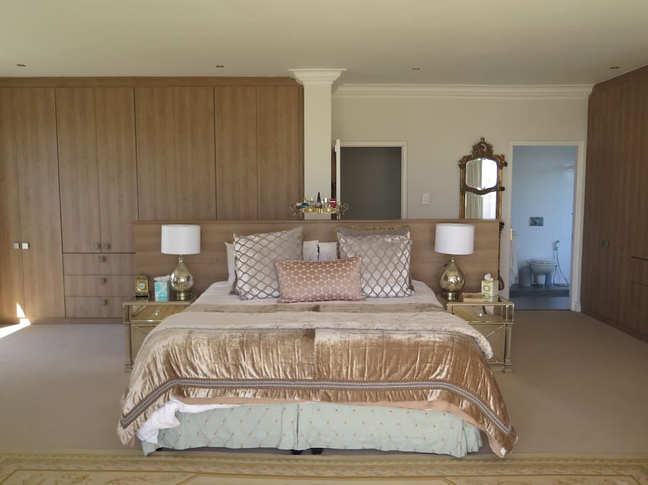 Master Bedroom with ample cupboard space