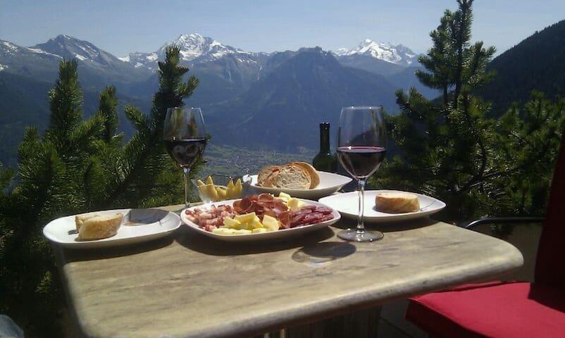 Deine Privatoase mit Sicht aufs Matterhorn