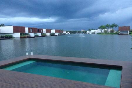 Lake House na Fazenda Boavista - Porto Feliz