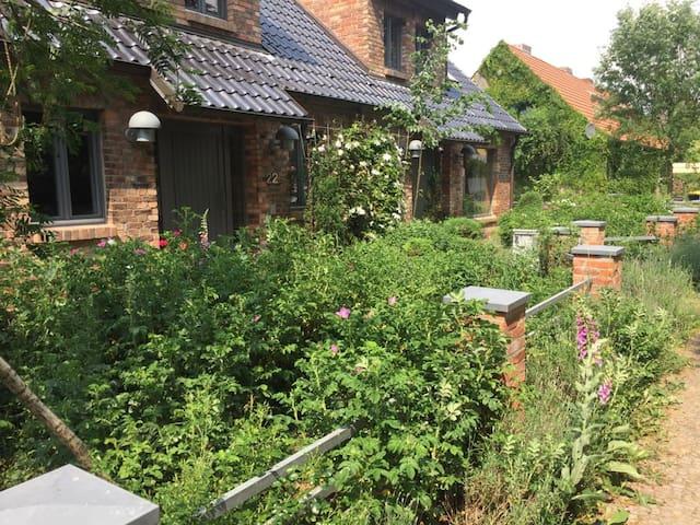 Große Wohnung / Haushälfte in Peetzig am See