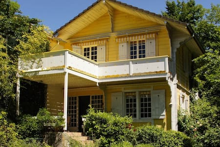 Romantic 3 bedroom house, close to lake and city - Vésenaz