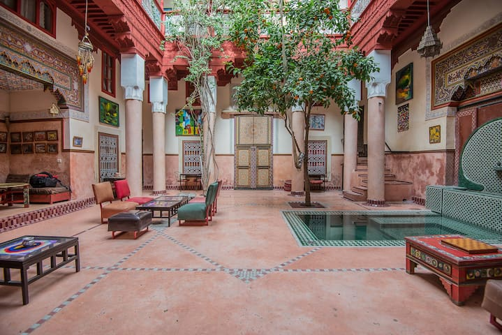 Authentic Riad in the heart of the Souks