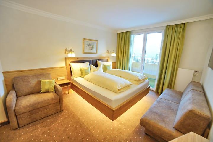 Doppelzimmer Superior im Hotel Glocknerhof