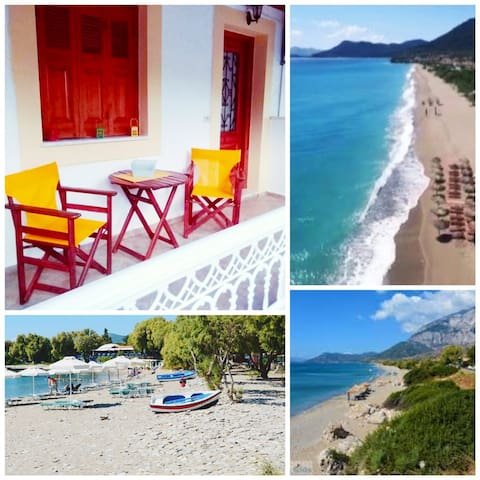 Nina studios, just 100 metres from the beach!!!