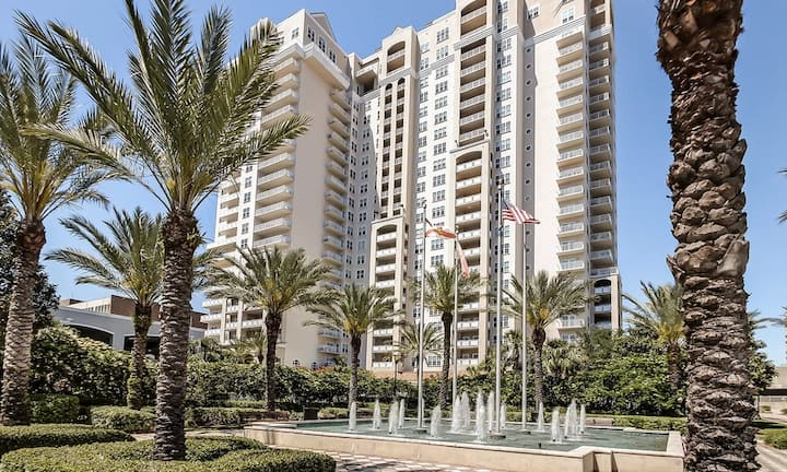 Inspired 2bdr/2bath condo -  highrise downtown