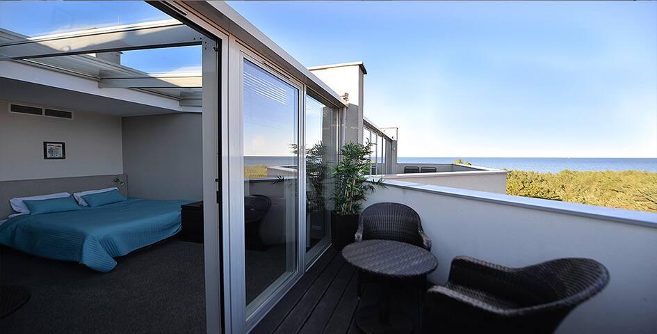 Apartament Deco z widokiem na Morze Władysławowo