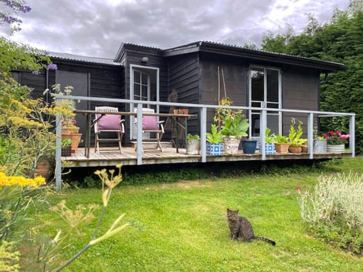 Romantic studio with veranda