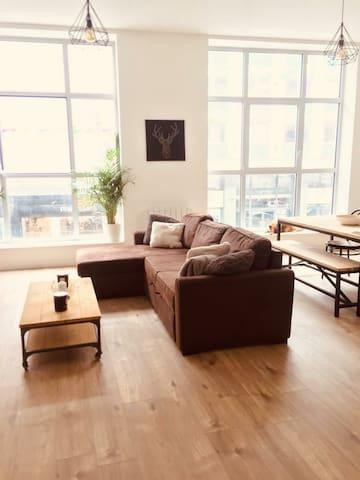 Chambre dans bel appartement (1 min grand place)