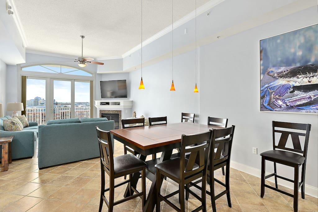 South Beach 703 - Living Room