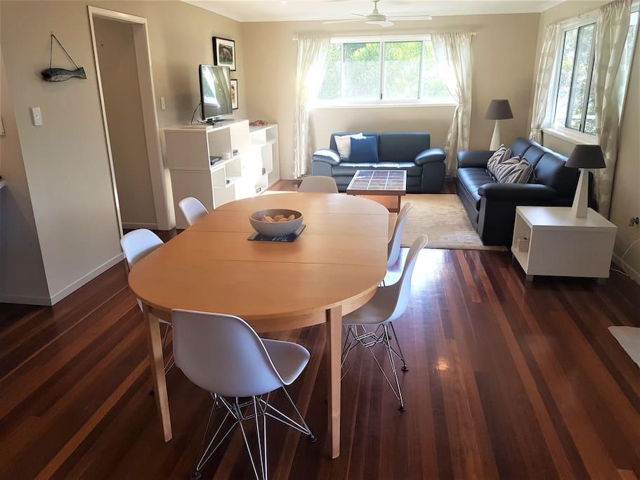Upstairs Dining / Living