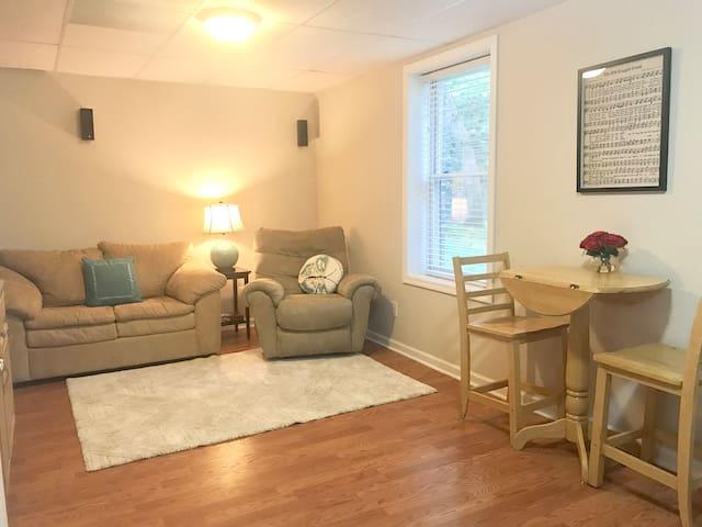 Basement apartment near Duke, Durham, NC