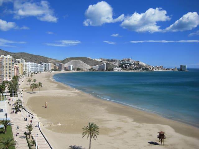 Primera línea playa CULLERA. Espectacular