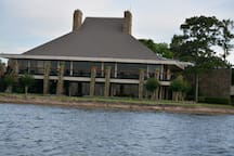 Fine dining at the Walden Yacht Club.  Just steps away from the condo.  Use the Walden card to get 15% off your meal.  Enjoy a 360 degree panoramic view of Lake Conroe while you dine!