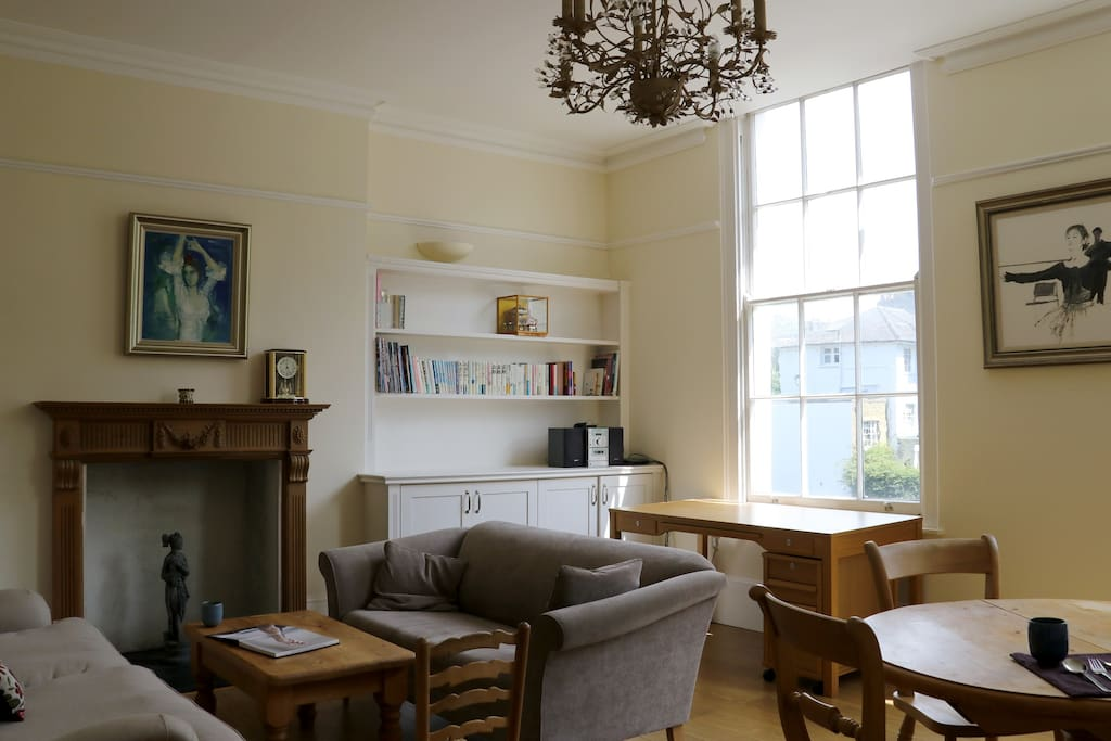living room - enormous and full of light