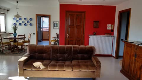 Spacious apartment near lago D'orta