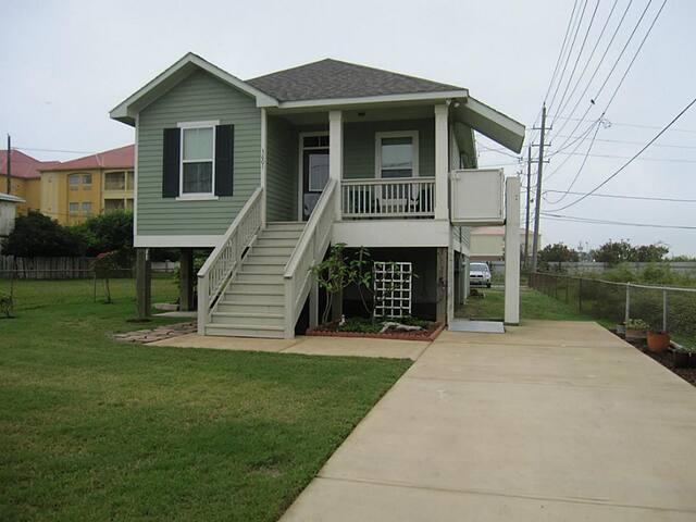 Ocean SHORES-UNDER 72/NT, W/D,WIFI,1 BLK OFF BEACH - Galveston - Rumah