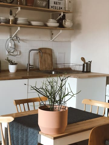 New simple kitchen