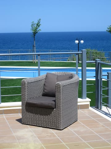 La Casa de l´Aigua, appt première ligne de mer - Llançà - Apartment